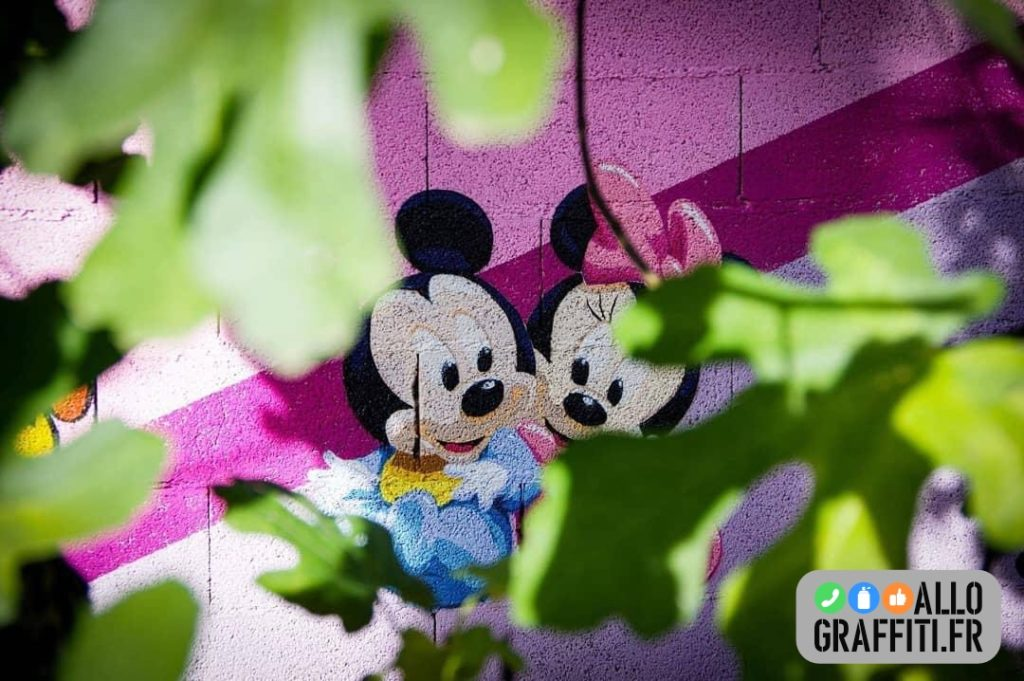 Décoration Mickey et Minnie
